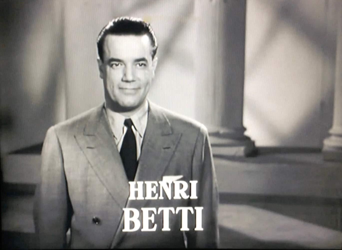 BETTI Henri