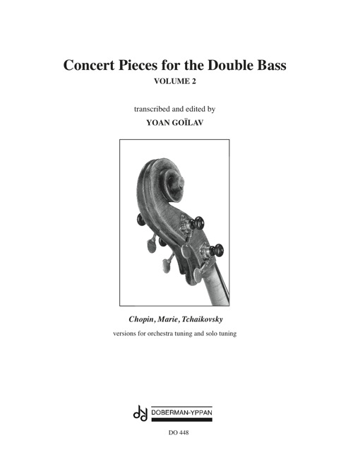 Concert Pieces for the Double Bass, Vol. 2