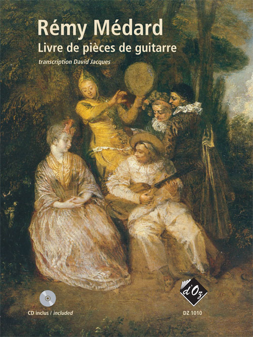 Livre de pièces de guitarre (CD incl.)