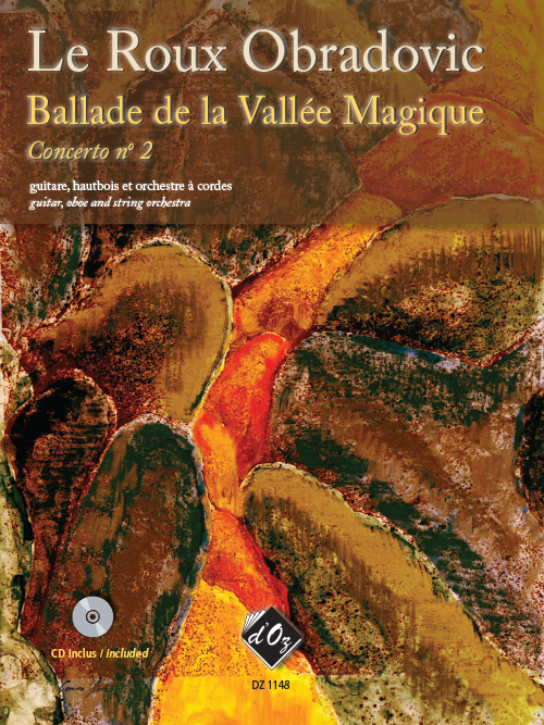 Concerto no. 2 - Ballade de la Vallée Magique (CD incl.)