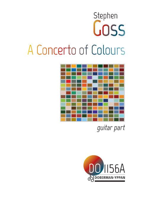 A Concerto of Colours (guitar part)