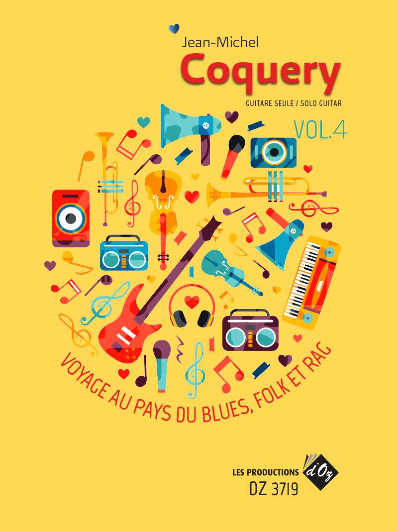 Voyage au pays du blues, folk et rag Vol. 4