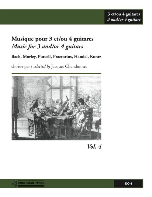 Musique pour 3 et/ou 4 guitares, Vol. 4