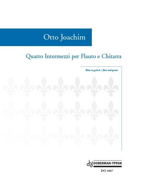 Quatro Intermezzi per Flauto e Chitarra