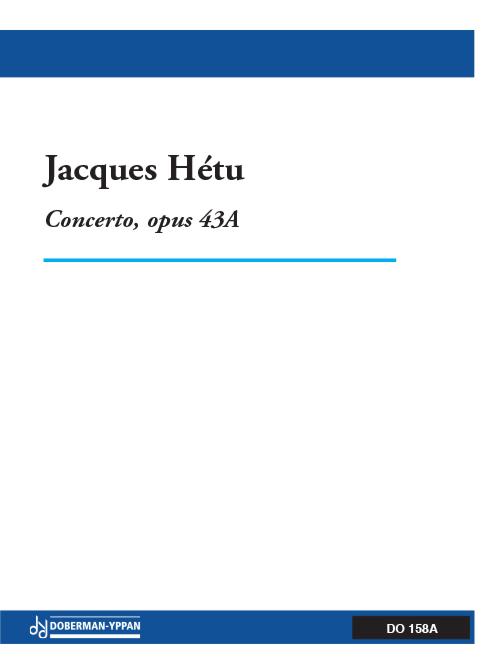 Concerto pour trompette, opus 43A