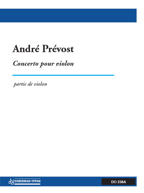 Concerto for violin (partie soliste)