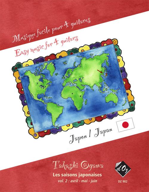 Easy music for 4 guitars - Les saisons japonaises, vol. 2 (Japon)