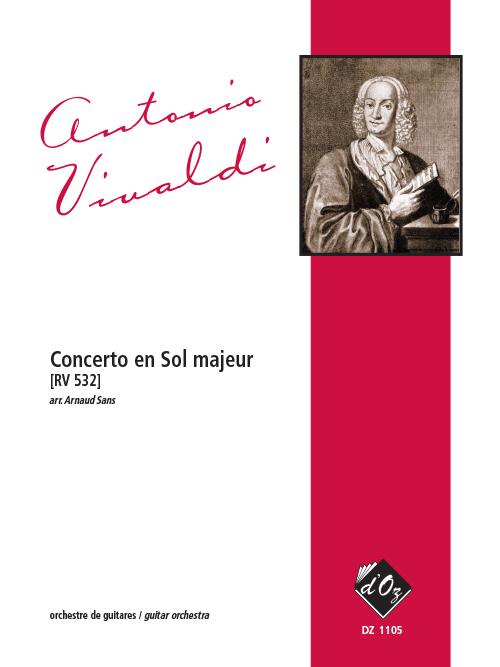Concerto en Sol majeur, RV 532