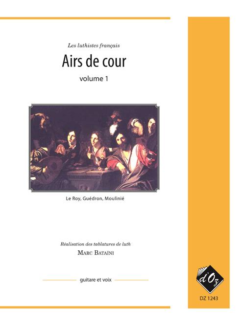 Airs de cour, vol. 1