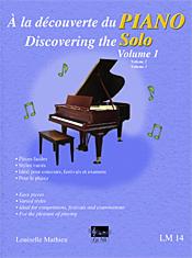 À la découverte du piano solo, vol. 1