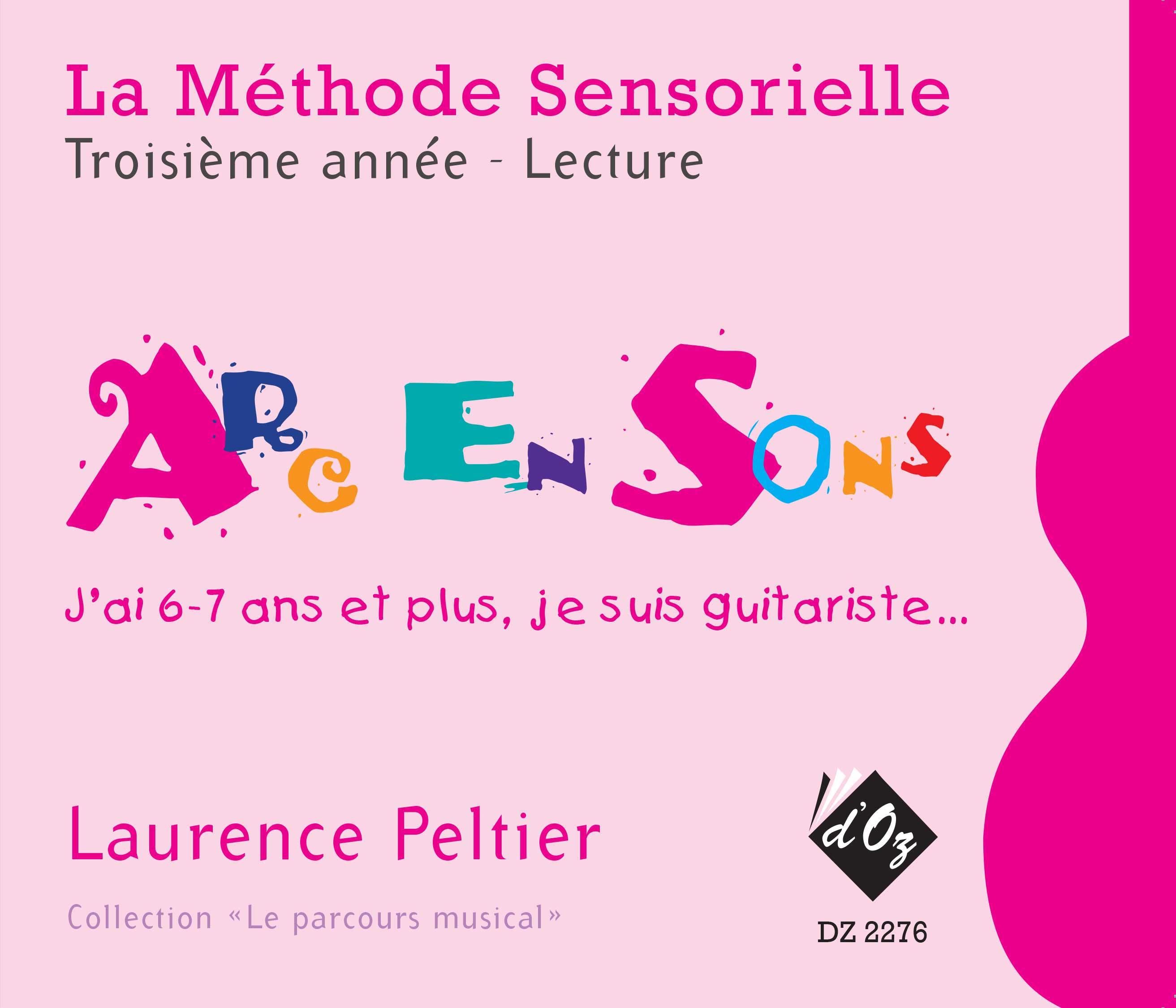 La méthode sensorielle, 3e année, Lecture