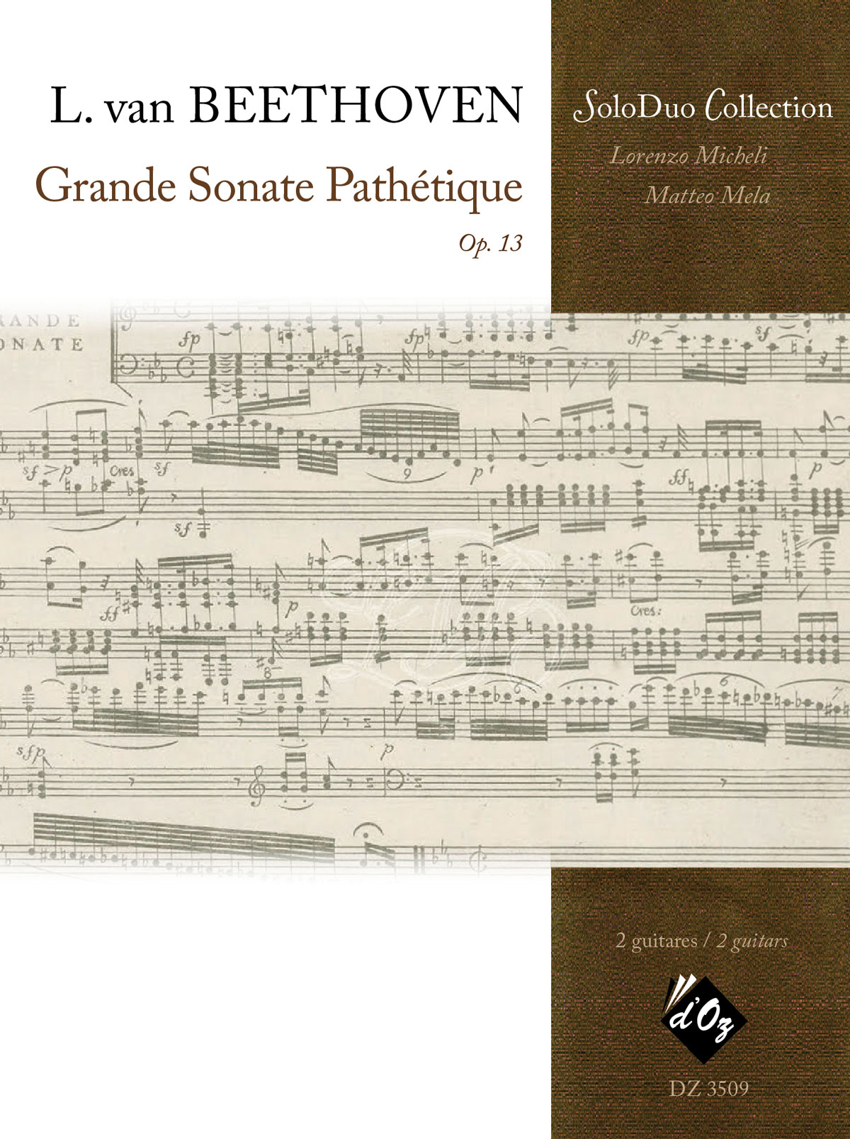 Grande sonate pathétique, opus 13