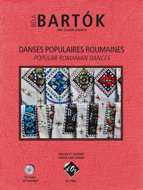 Danses populaires roumaines (CD incl.)