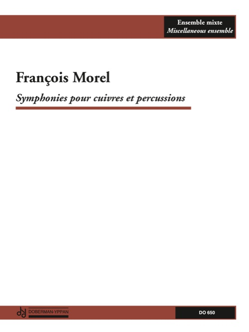 Symphonies pour cuivres et percussions (score)