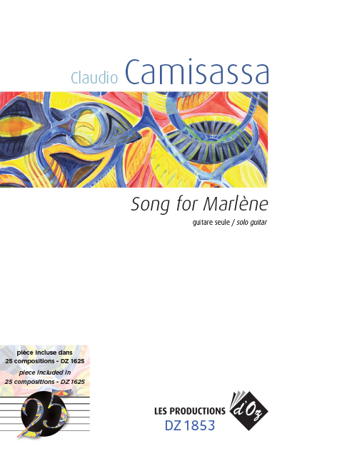 Song for Marlène