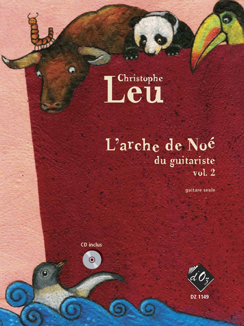 L'arche de Noé du guitariste, vol. 2 (CD inclus)