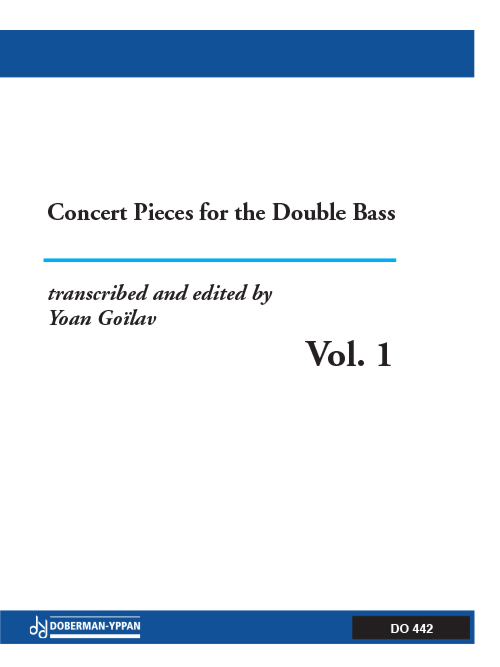 Concert Pieces for the Double Bass, Vol. 1