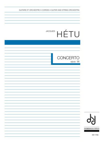 Concerto pour guitare et orchestre à cordes, opus 56 (score)