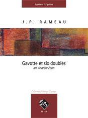 Gavotte et six doubles