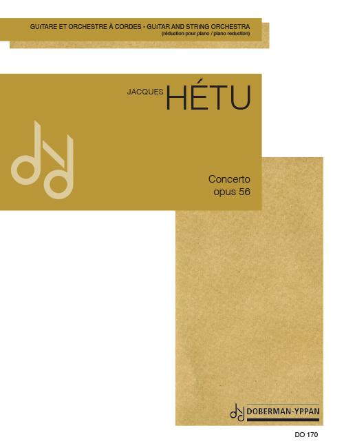 Concerto pour guitare, opus 56 (réductions de piano)