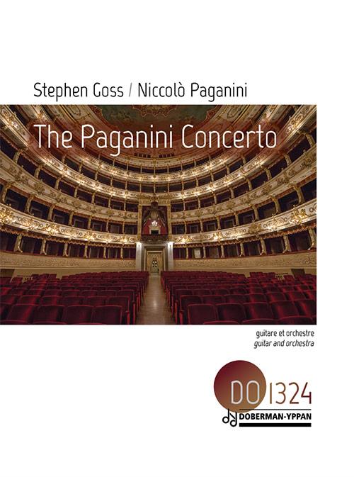 The Paganini Concerto - score