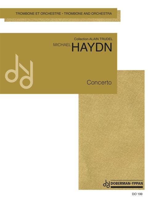 Concerto pour trombone alto (score)