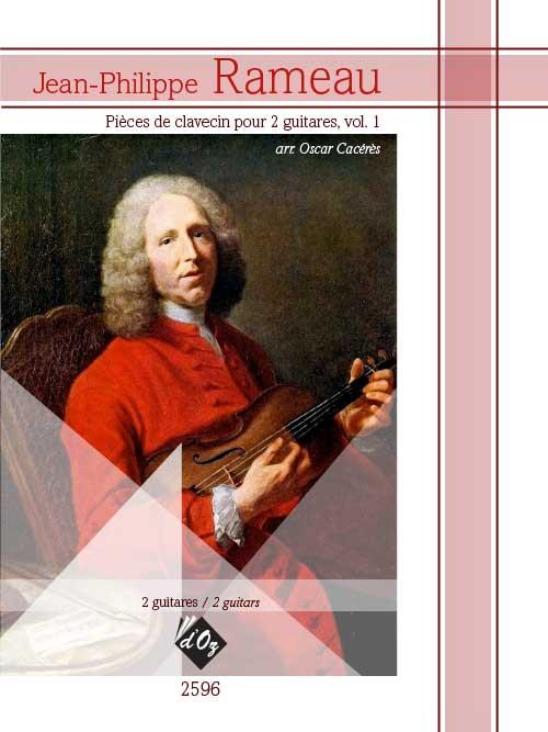 Pièces de clavecin pour 2 guitares, vol. 1