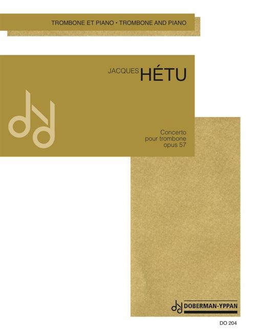 Concerto pour trombone, opus 57 (réduction de piano)