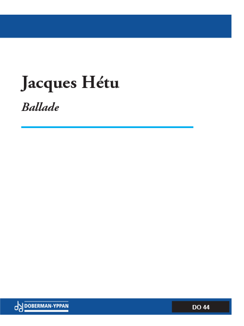 Ballade, opus 30