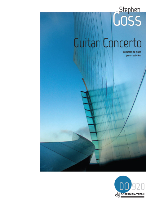 Guitar Concerto (réduction de piano)