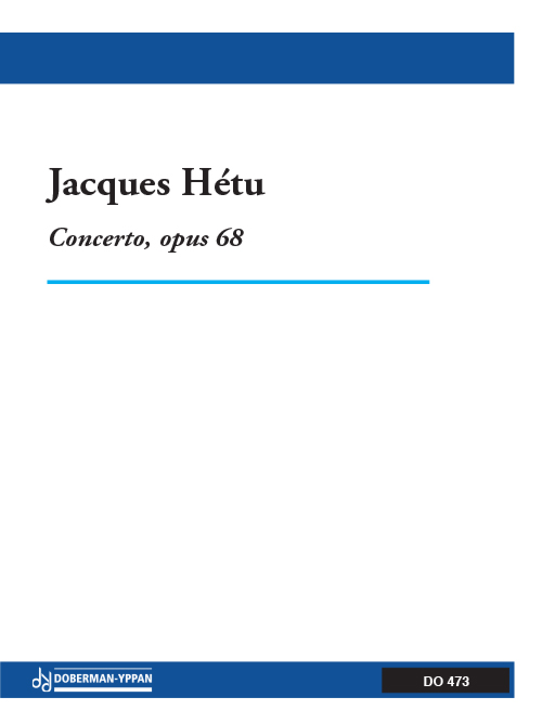Concerto pour orgue, opus 68 (réductions d'orchestre)