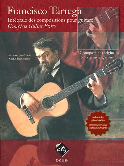 Intégrale des compositions pour guitare
