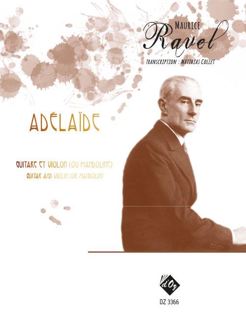 Adélaïde - Valses nobles et sentimentales