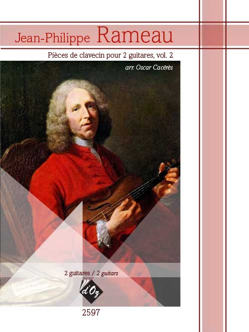 Pièces de clavecin pour 2 guitares, vol. 2