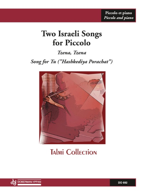 Two Israeli Songs for Piccolo