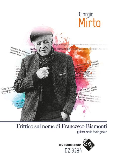 Trittico sul nome di Francesco Biamonti