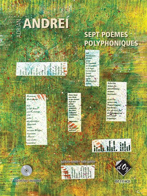 Sept poèmes polyphoniques (CD incl.)