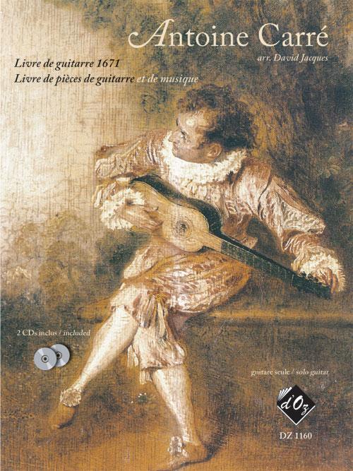 Livre de guitarre 1671... (2 CDs inclus)