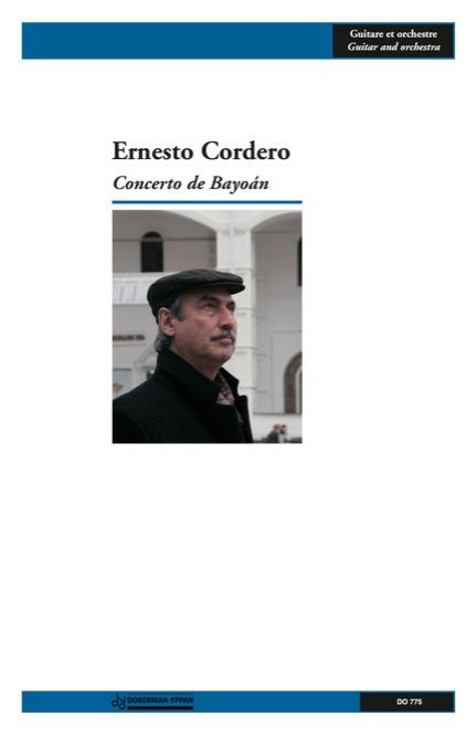 Concerto de Bayoán (score)