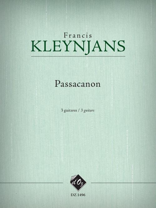Passacanon, opus 260