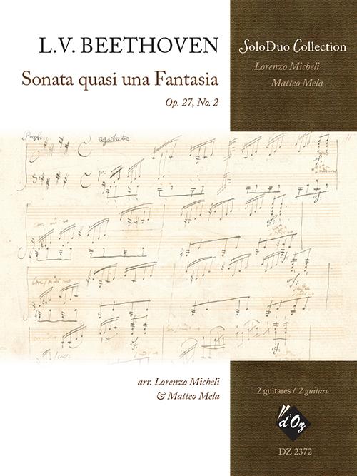 Sonata quasi una fantasia, Op. 27, no. 2