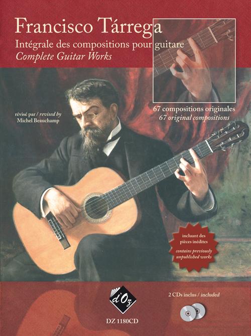 Intégrale des compositions pour guitare (2 CDs inclus)