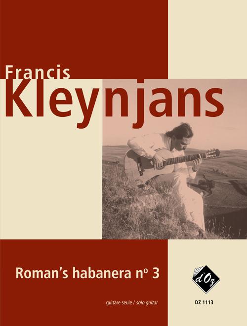 Roman's habanera no 3, opus 244