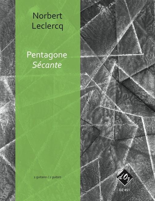 Pentagone - Sécante