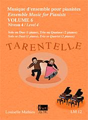 Musique d'ensemble pour pianistes, vol. 6 - Tarentelle