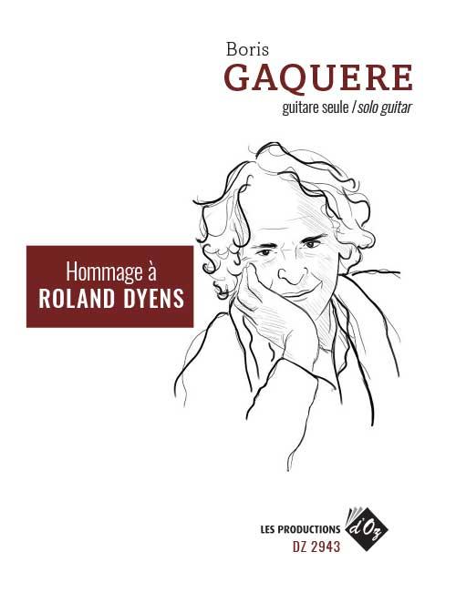 Hommage à Roland Dyens