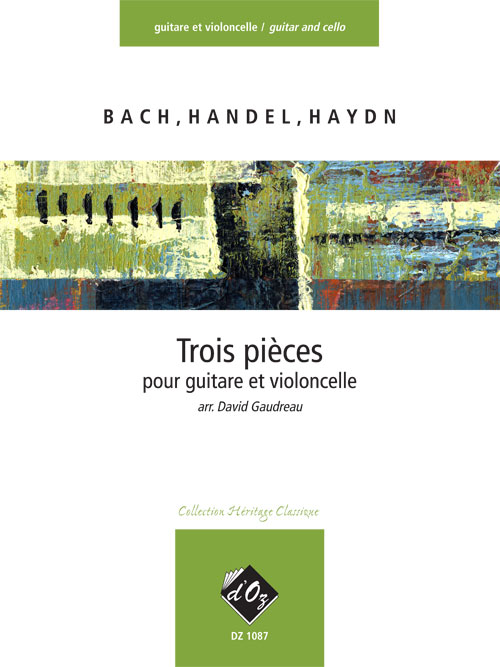 Trois pièces faciles (Bach, Handel, Haydn)