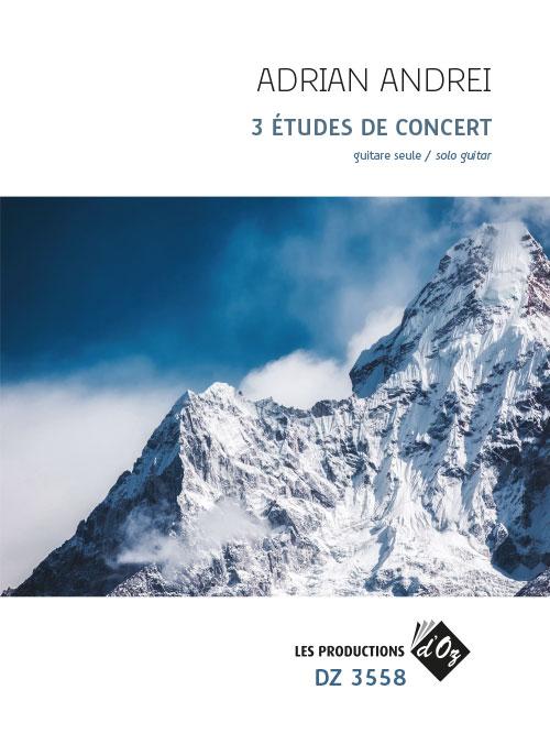3 Études de concert