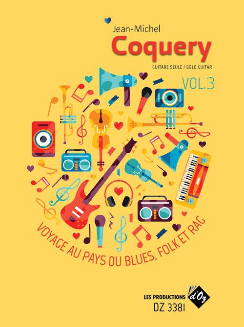 Voyage au pays du blues, folk et rag Vol. 3