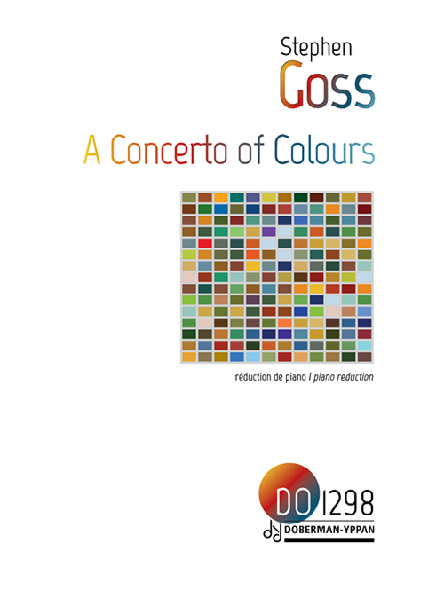 Concerto of Colours, piano reduction